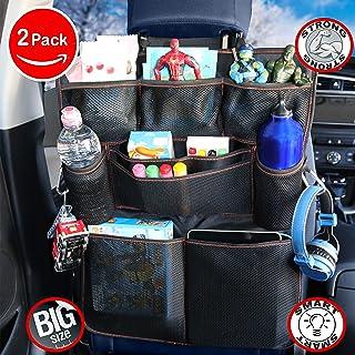 Auto Car Seat Back Multi-Pocket Storage Bag Organizer Holder Accessor TPI