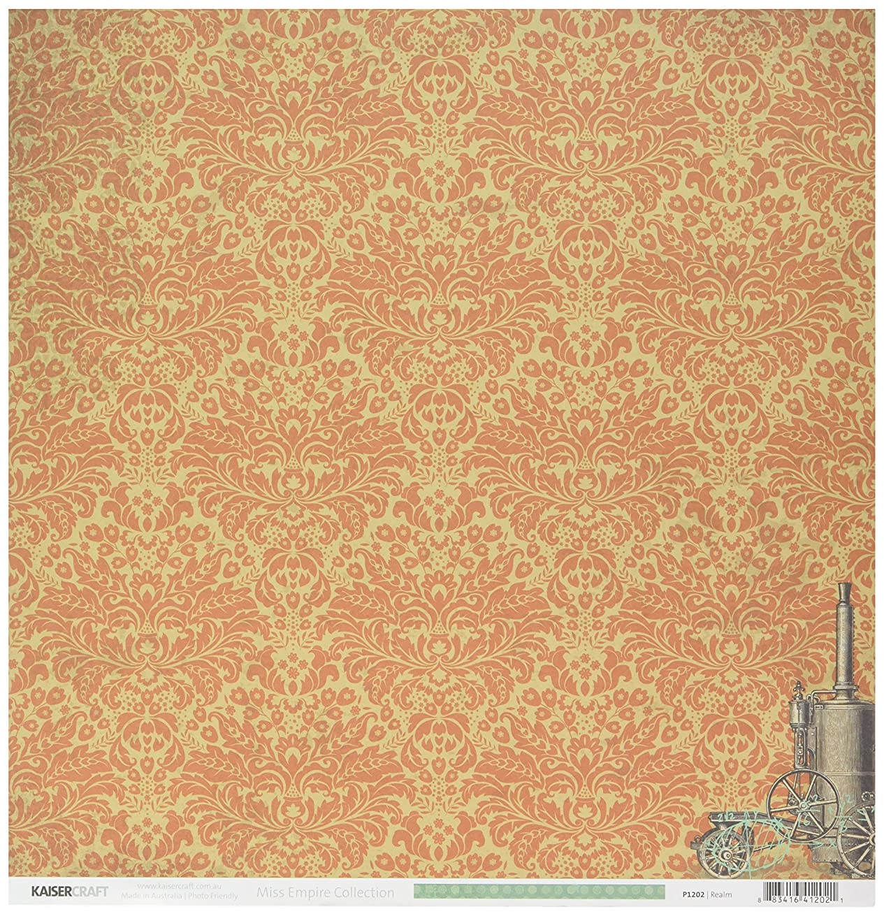 Kaisercraft Miss Empire Double-Sided Cardstock 12