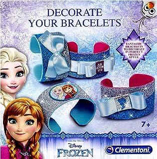 Clementoni- Disney Frozen Bracelets, 18515, Multi-Coloured