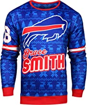 Forever Collectibles NFL Mens The Greats Retired Players Graphic Sweater, Player Options
