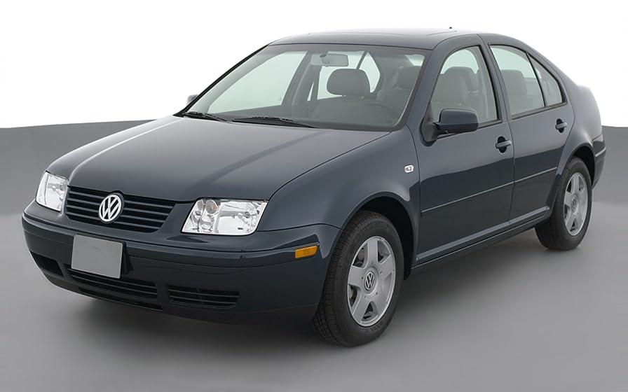2001 Volkswagen Jetta GLS, 4-Door Sedan TDI Manual Transmission, Reflex Silver