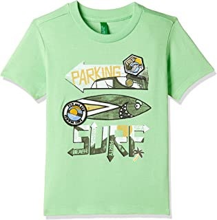 United Colors of Benetton Baby Boy's Plain Regular Fit T-Shirt