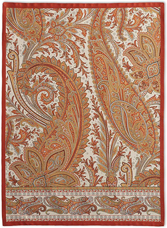 Maison D Hermine Kashmir Paisley 100 Cotton Set Of 2 Kitchen Towels 20 Inch By 27 5 Inch