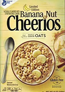 Cheerios Banana Nut Limited Edition 2 X 12oz Boxes