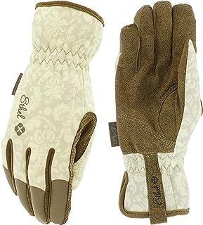 Ethel: Women's Gardening & Utility Work Gloves by Mechanix Wear - Rendezvous (Women's Medium)