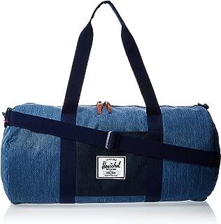 Herschel Unisex-Adult Sutton Mid-Volume Duffle Bag, Faded Denim - 10251