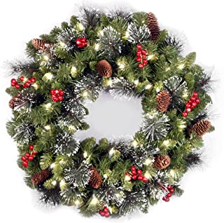 Best lit up wreath Reviews