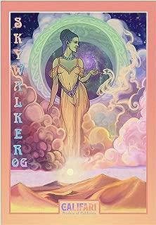 Califari Skywalker OG - Vivid Color Weed Poster, Cannabis Art, Marijuana Decor for a House, Dorm, Cannabis Dispensary, Store, or Shop - 13