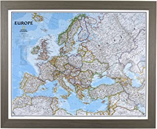 push pin travel map europe