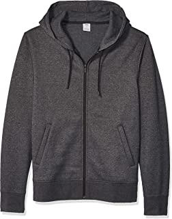 Amazon Essentials Men's Water-Repellent Thermal-Lined Full-Zip Fleece Hoodie