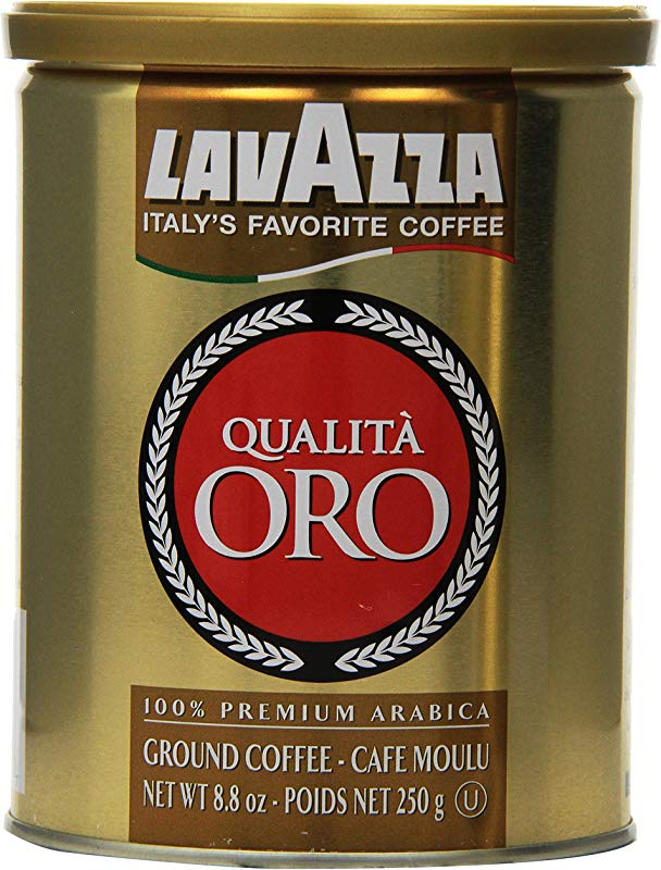 Lavazza Qualita Oro Ground Coffee 8 8 Ounce Cans Pack Of 2