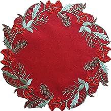 Medium Poinsettia Table Topper 14