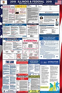 2019 Illinois and Federal Labor Law Poster