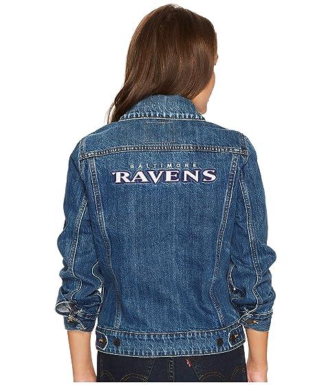Ravens Trucker Womens Denim Sport Blue Levi's® 5Uwg6qxnYn