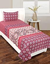 RD TREND Single Bed Sheet (90 x 60) with 1 Pillow Cover (17 x 27)
