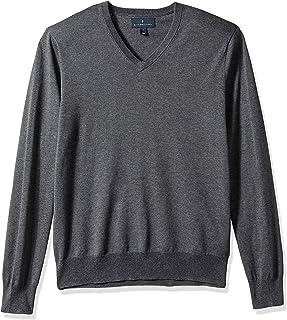 Buttoned Down Men's Supima Cotton V-Neck Sweater