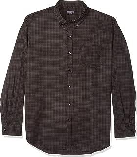 Men's Flex Long Sleeve Button Down Stretch Solid Shirt