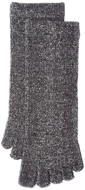 (シルク)絹SiLK 絹SiLK 肌側シルク100%パイル5本指3層編ソックス