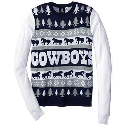 7a38f085888 Dallas Cowboys Ugly Christmas Sweater  Amazon.com