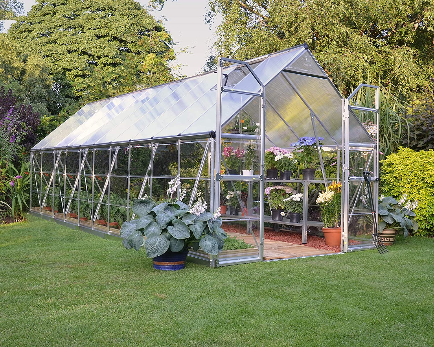 Palram BALANCE 8X20 EXTENDED SILVER GREENHOUSE