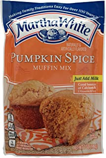 Martha White Pumpkin Spice Muffin Mix, 7 Oz (Pack of 3)