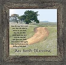 An Irish Blessing Picture Frame, An Irish Blessing, Irish Blessing Picture Frame, May the Road Rise to Meet You, 10x10 8586BW