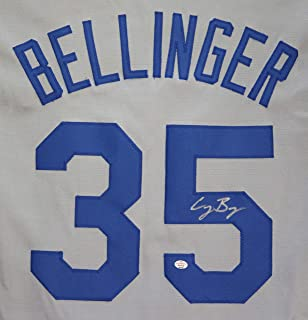 Cody Bellinger Los Angeles Dodgers Signed Autographed Gray #35 Custom Jersey PAAS COA