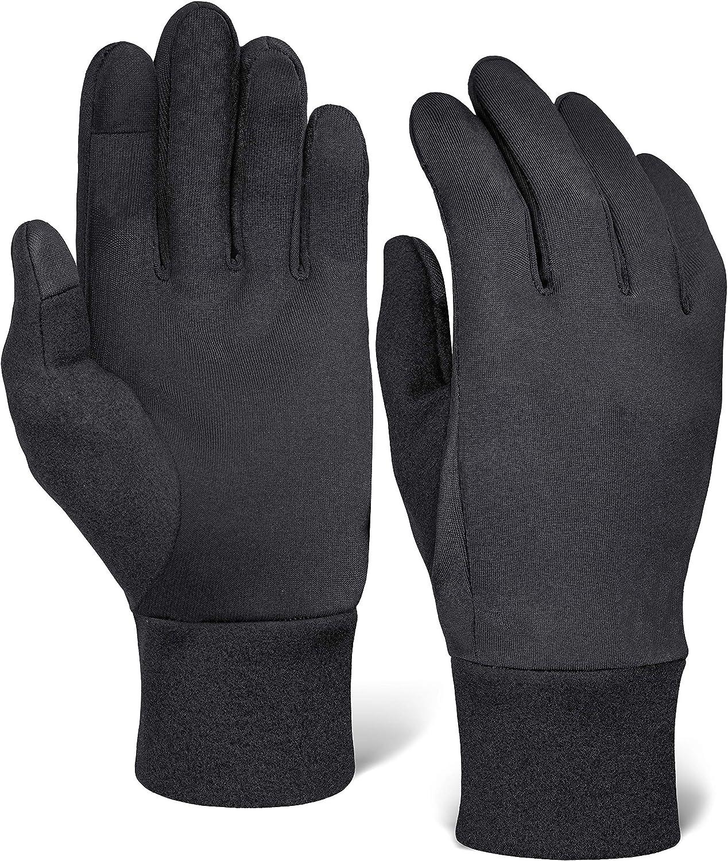Running Glove half Liners - Thermal Winter Genuine T Men Women for Gloves