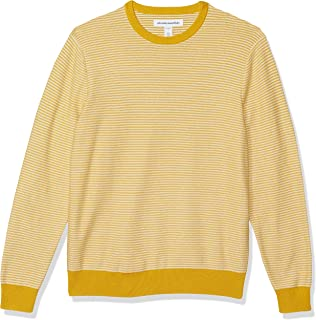 Amazon Essentials Men's 100% Cotton Crewneck Jumper
