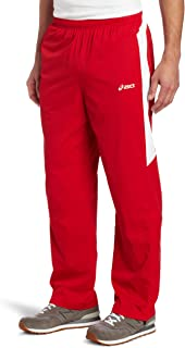 ASICS Men's Caldera Warm-up Pant XX-Small Red