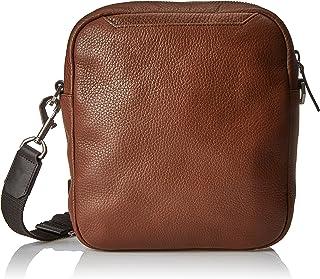 ECCO - Kauai Backpack, Bolso Hombre, Marrón (Brown), 8x25x22 cm (B x H T)