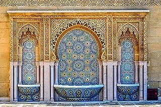 ورق جدران نقش اسلامي ثلاثي الابعاد
