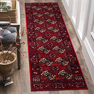 "Safavieh Vintage Hamadan Collection VTH212A Red and Multi Area Rug (2'2"" x 4')"