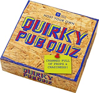Talking Tables Party Night Adults | Christmas Quirky Pub Quiz Game