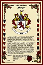 Morgan Coat of Arms/Crest and Family Name History, meaning & origin plus Genealogy/Family Tree Research aid to help find clues to ancestry, roots, namesakes and ancestors plus many other surnames at the Historical Research Center Store