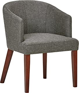 Rivet Alfred Mid-Century Modern Wide Curved Back Accent...