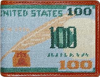 Smathers & Branson Men's Needlepoint Bi-Fold Wallet