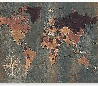 artgeist Wall Mural World Map 116