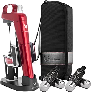 Coravin Model Two Elite Pro Wine Preservation System, Candy Apple Red