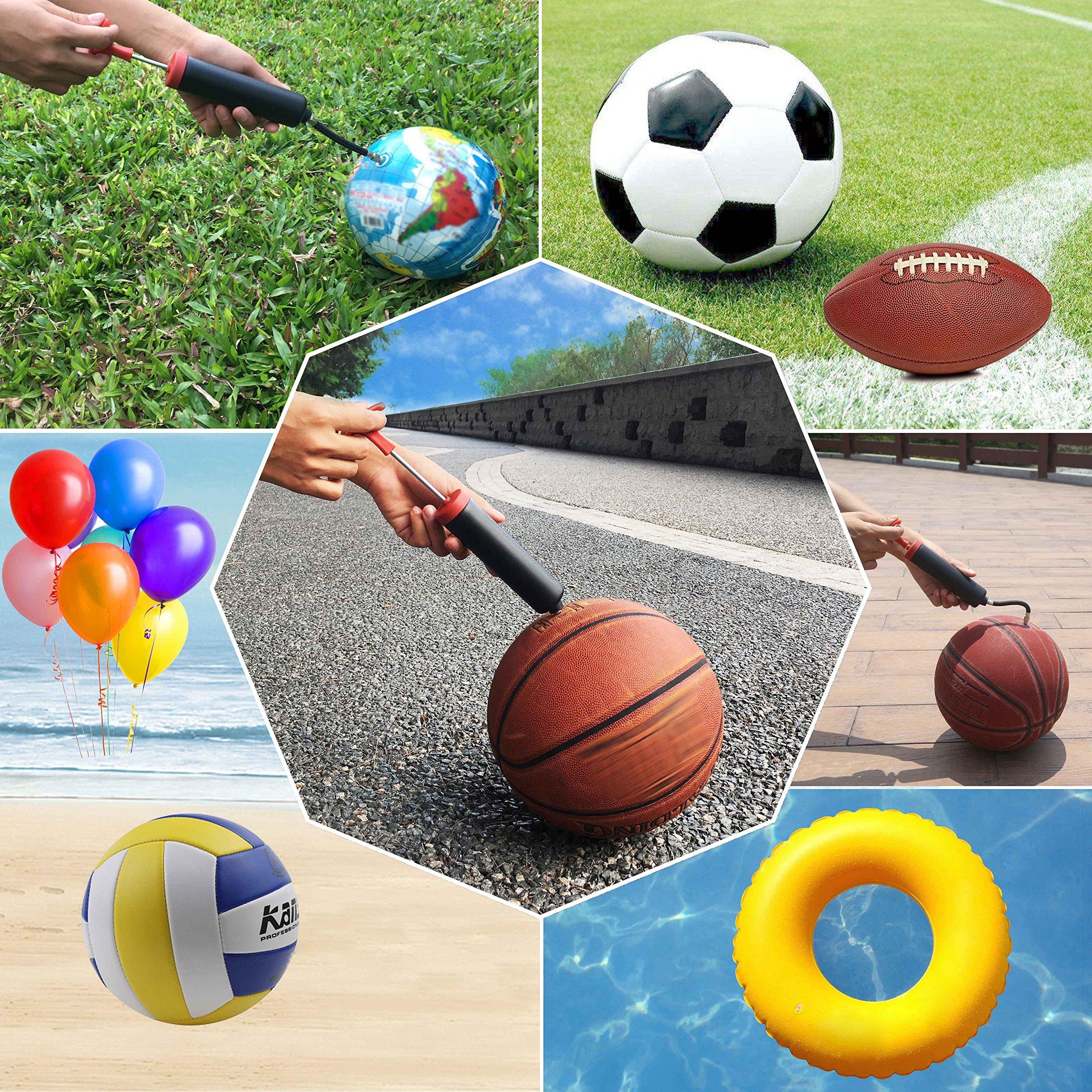 SKOLOO® - Kit de inflador de aire para bomba de balón de fútbol ...
