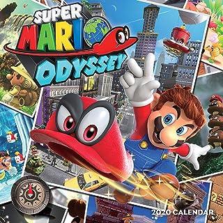 Pokemon: Super Mario Odyssey 2020 Wall Calendar