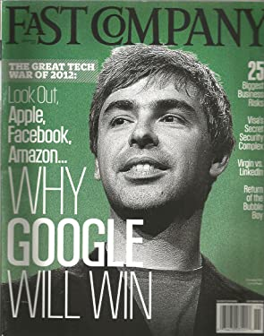 Fast Company Magazine (November 2011,Larry Page Cover,Google)