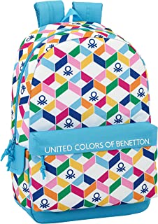 Ucb benetton mochila grande adaptable a carro.