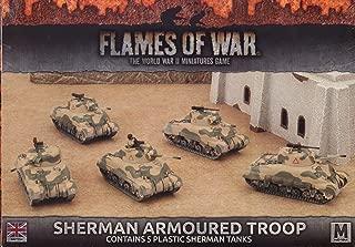 Flames of War: Mid War: British: Sherman Armoured Troop