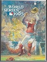 1985 St. Louis Cardinals vs. Kansas City Royals World Series Program Un Scored