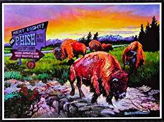 Phish - Live at Usana Amphitheatre/Utah 2003 - Concert Tour Mini Poster