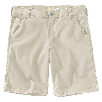 Carhartt Rugged Flex Rigby Shorts (Tan) Men