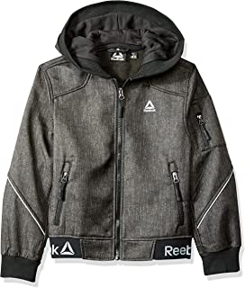 Reebok Boys' Active Logo Hem Jacket