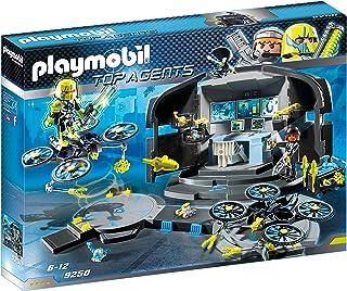 Playmobil 9250 Top Agents Dr. Drone's Command Center, met 2 Figuren en Veel Accessoires