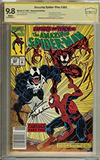 Amazing Spider-Man #362 CBCS 9.8 not CGC Signed David Michelinie & Jim Salicrup